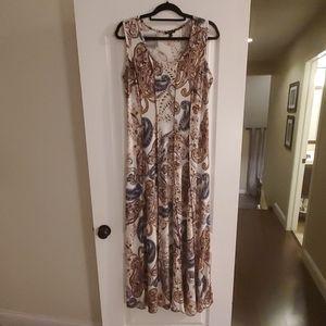 Sami & Jo paisley maxi dress